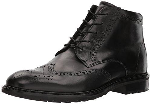 ECCO Men's Vitrus I Tie Boot Oxford, Black Wingtip, 41 M EU (7-7.5 US)