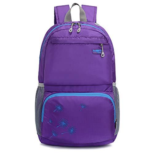 Purple color Fashion Waterproof Uomini Per Travel E Joyiyuan Backpack Ultralight Donne Black Pxq6xS1z