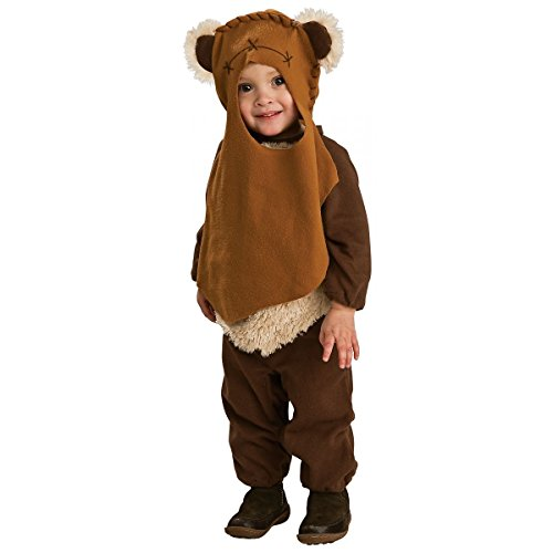 Ewok Costume Toddler Kids Star Wars Halloween Fancy Dress For Toddler 1-2 -