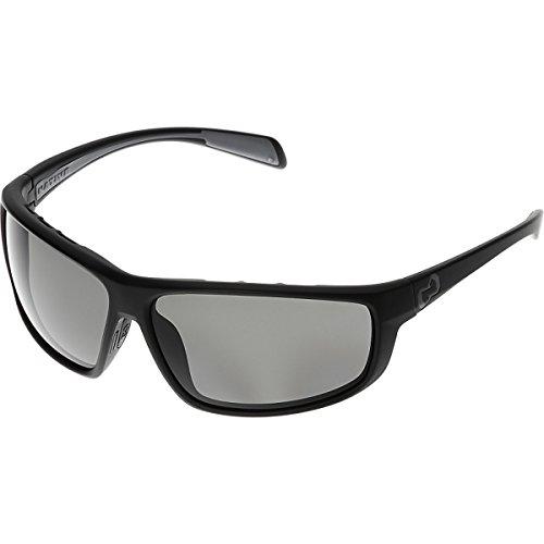 161 Sunglasses (Native Eyewear Bigfork Polarized Sunglasses, Gray, Matte Black)