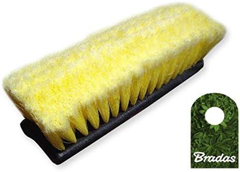 Bradas Autowaschbürsten Kopf Waschbürste Bürste Flächenwascher 10 2 Flachen Mit Wasserdurchlauf Auto