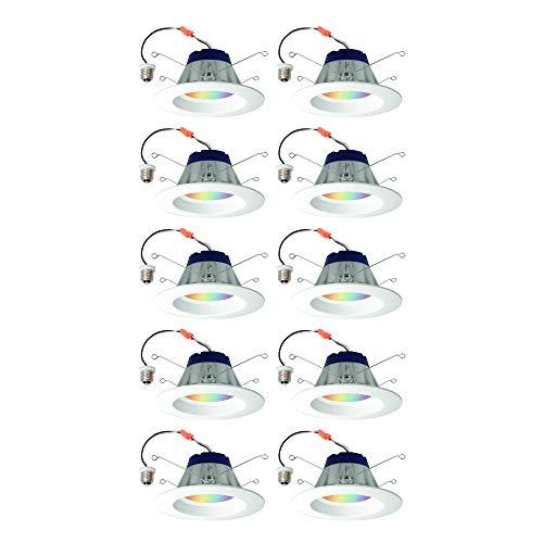 Sylvania Lightify 65W LED Smart Home 2700-6500K Color/White Light Bulb (2 Pack) (5 Pack) from SYLVANIA