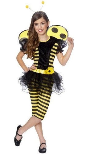 Busy Bee Halloween Costumes - Busy Bee Child Halloween Costume Size