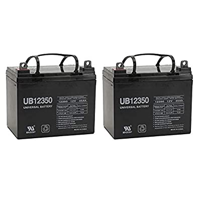 12V 35AH Battery For Victory 10 (4 Wheel) Scooter SC710 - 2 Pack