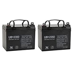 D5722 UB12350 12V 35AH - Absorbant Glass Mat (AGM) technology for superior performance. Valve regulated, spill proof construction allows safe operation in any position.   Common uses for the UB12350: Consumer Electronics, Electric Vehicles, ...