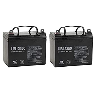 12V 35AH Jazzy Select GT Power Chair Scooter Battery - 2 Pack  sc 1 st  Amazon.com & Amazon.com: 12V 35AH Jazzy Select GT Power Chair Scooter Battery - 2 ...