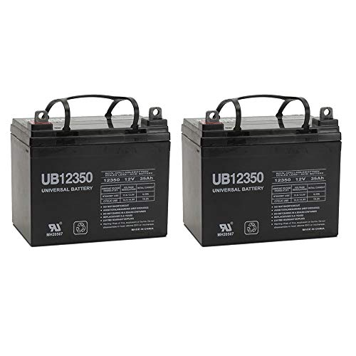 Universal Power Group 12V 35AH Replacement Battery for Ego Cycle 2 Classic Scooter - 2 Pack