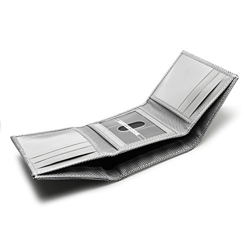 Fold Tri Triangle Blocking ID Stewart Stewart RFID Stand Stand xZYXZa