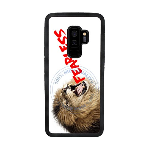 BleuReign(TM) Fearless Lion TPU Rubber SILICONE Phone Case Back Cover For Samsung Galaxy S9 Plus (Rasta Big Stripes)