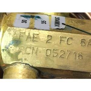 EMERSON/ALCO AFAE 2 FC/052716 2 TON ADJUSTABLE EXTERNAL MEDIUM TEMP TXV