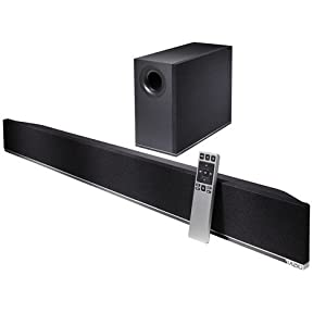 VIZIO S3821w-C0 38-inch 2.1 Home Theater Sound Bar with Wireless Subwoofer (2014 Model)