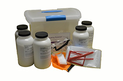 Solvent, Caustic and Acid Neutralization and Spill Clean Up Master Kit - Clean 4 Liters of Solvent Spills