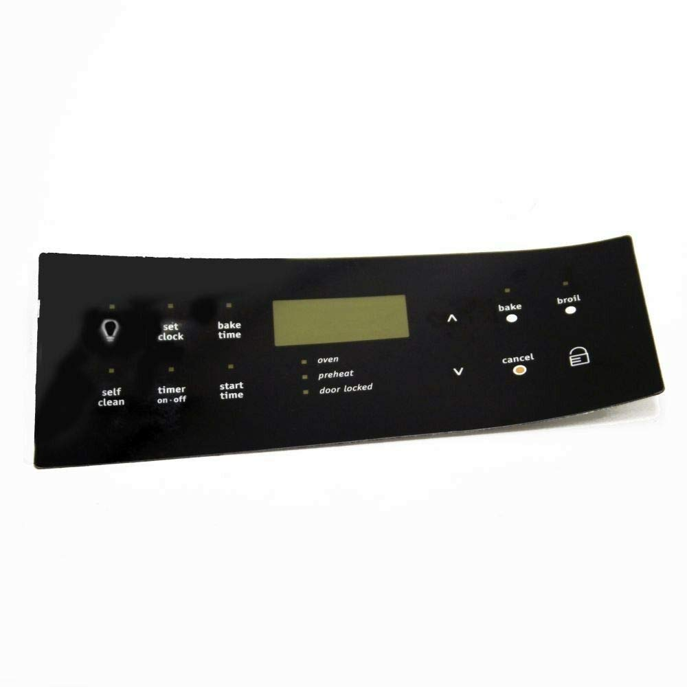 Control Clock Overlay 316419339 316419339 PS2373504 For Frigidaire Stove Oven Range