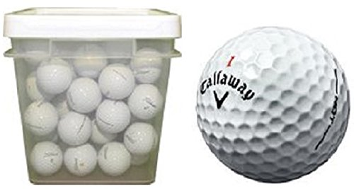 Callaway Hex Series Assorted Recycled Golf Balls (100-Ball Bucket)