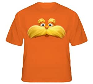 lorax face t shirt with all sizes adult xl. Black Bedroom Furniture Sets. Home Design Ideas