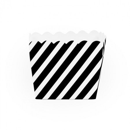 Dress My Cupcake Striped Square