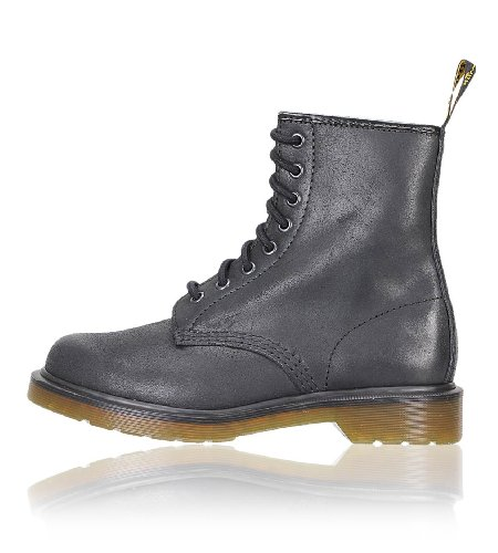 Dr. Martens 1460 Smooth, Stivaletti Unisex-Adulto Nero (Black Harvey)