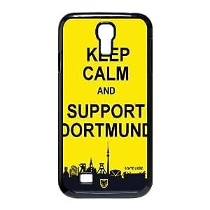 Sexyass Dortmund Samsung Galaxy S4 Cases Keep Calm and Support Dortmund, Dortmund [Black]