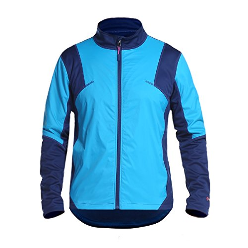 INBIKE Men's Winter Jacket, Thermal Cycling Fleece Outwear for Cold Weather Blue XX-Large