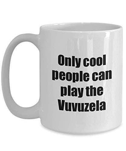 Vuvuzela Player Mug Musician Funny Gift Idea Gag Coffee Tea Cup 15 oz]()