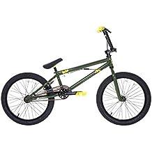 Dave Mirra Boys 8110-07T 20-Inch Leto/Mirraco Bike, Dark Green/Yellow/Black