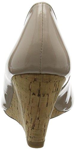 femmes brevet à bout pour nu beige Talon fermé Jelico de Lotus qUXOxwa