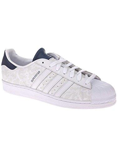 Adidas Superstar Stichting Herren Sneakers Wit / Collegiale Navy