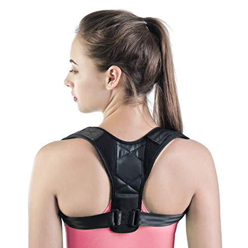 Kids Posture Corrector, Back Support Brace, Adjustable Breathable Back Shoulder Support Belt