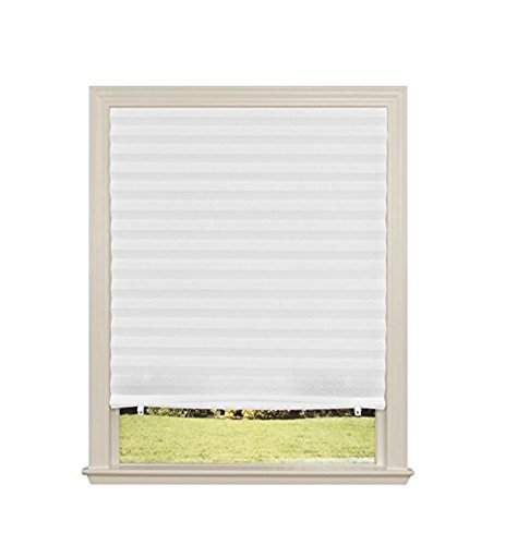 Redi Shade Original 48-Inch Light Filtering Temporary Window Shade, White #3842378