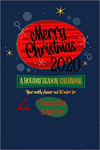 Christmas 2020.Merry Christmas 2020 A Holiday Season Calendar Mid Century