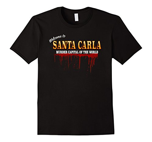 Mens Welcome To Santa Carla - Vintage