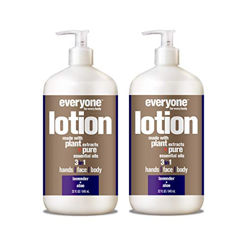 Everyone Lotion, Lavender and Aloe, 32 Ounce (Pack Of 2)
