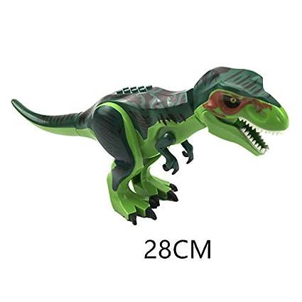 28CM Large Indominus Rex Dinosaur Figure Blocks Fit Lego Toys Set 2019 Kids Gift