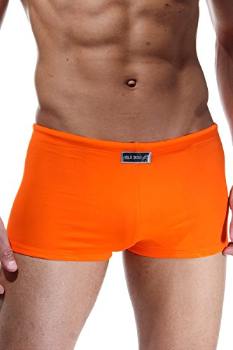 NILS BOHNER V.I.P. BEACH BASIC Retro Badepants (orange)