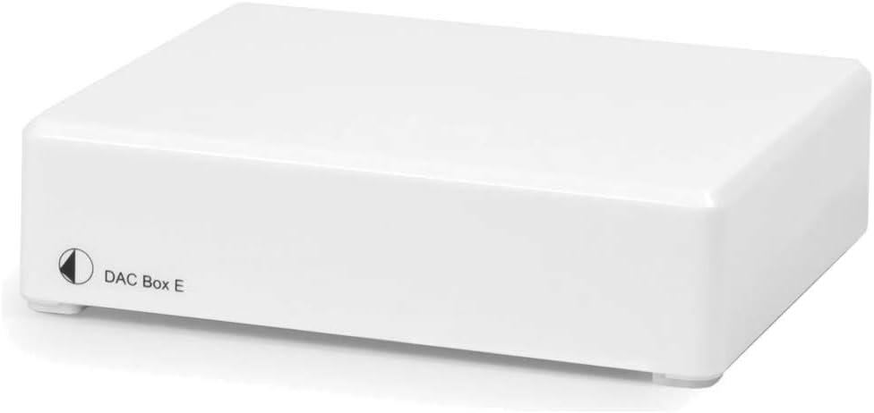 Project Dac Box E Digital To Analogue Converter White Mp3 Hifi