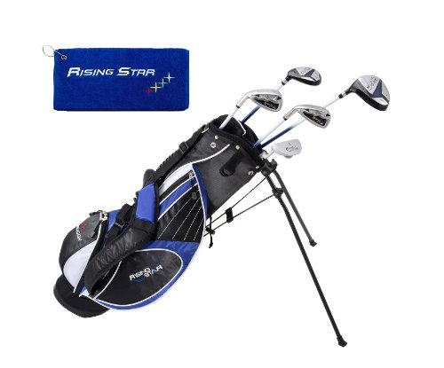 Paragon Golf Youth Golf Club Set, Blue, Ages 11-13 - Left - Youth Clubs Left Handed Golf