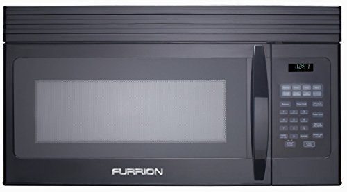 Furrion FMCM15-BL Black 1.5 cu. ft. OTR Convection Microwave Oven