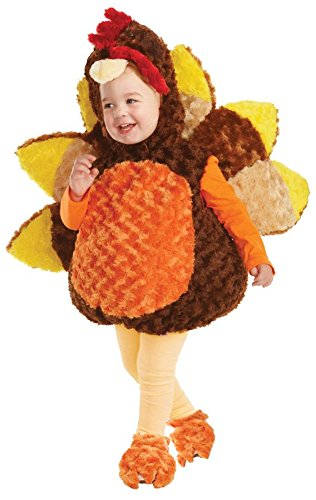 Puppy Belly Baby Costume (Underwraps Belly Baby Turkey Costume - Large (2-4))