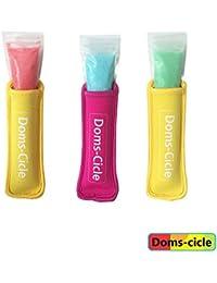 Take 50 Reusable Ziplock Popsicle Bags | Durable | Certified BPA Free | Freezer Safe DIY Ice Pop, Popsicle, Otter Pop... dispense