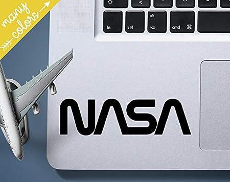 15 x 3,8 cm cruscotto paraurti per auto PC portatile Coppia di adesivi NASA