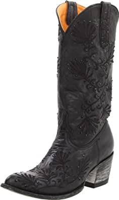 Old Gringo Women's Tammy Crystal Boot,Black,6 B US