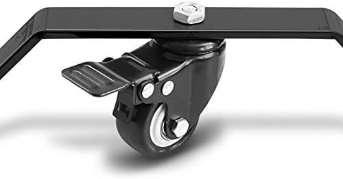 ConStands Rangierhilfe und Bolzen Motorrad Montagest/änder f/ür Kawasaki Ninja H2// Carbon// H2R Single Mover Schwarz hinten inkl