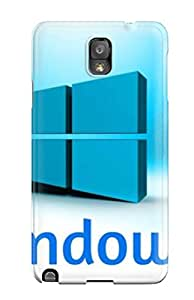 Durable Defender Case For Galaxy Note 3 Tpu Cover(windows )