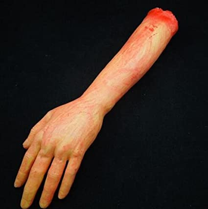 Joke and Prank Dress-Up Living Arm With White Glove Halloween
