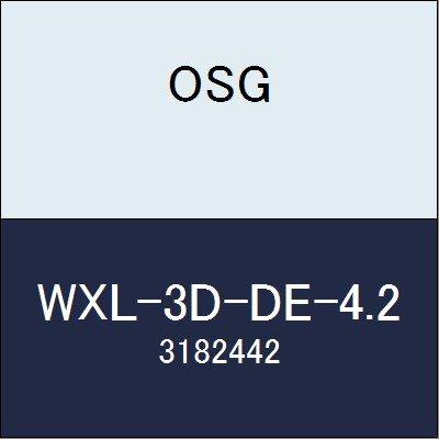 OSG エンドミル WXL-3D-DE-4.2 商品番号 3182442