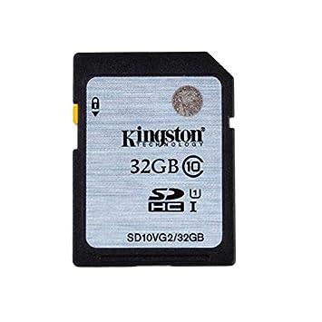 Kingston 32 GB SD tarjeta de memoria para cámara Nikon D5500 ...