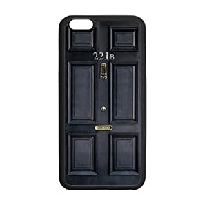 Caitin Doctor Who Grey Door Cell Phone Cases Cover for iPhone 5c