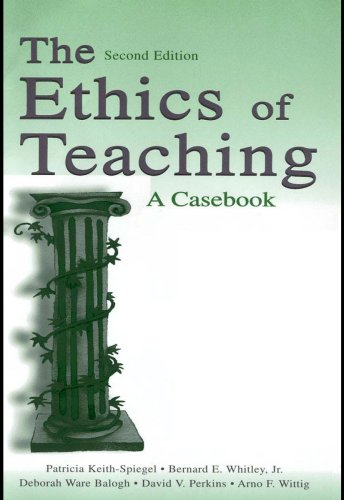 Download The Ethics of Teaching: A Casebook Pdf