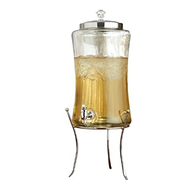 Style Setter Diamond Beverage Dispenser with Stand