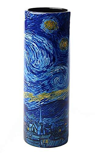 Parastone Van Gogh Starry Night Ceramic Flower Vase 7H VAS02GO